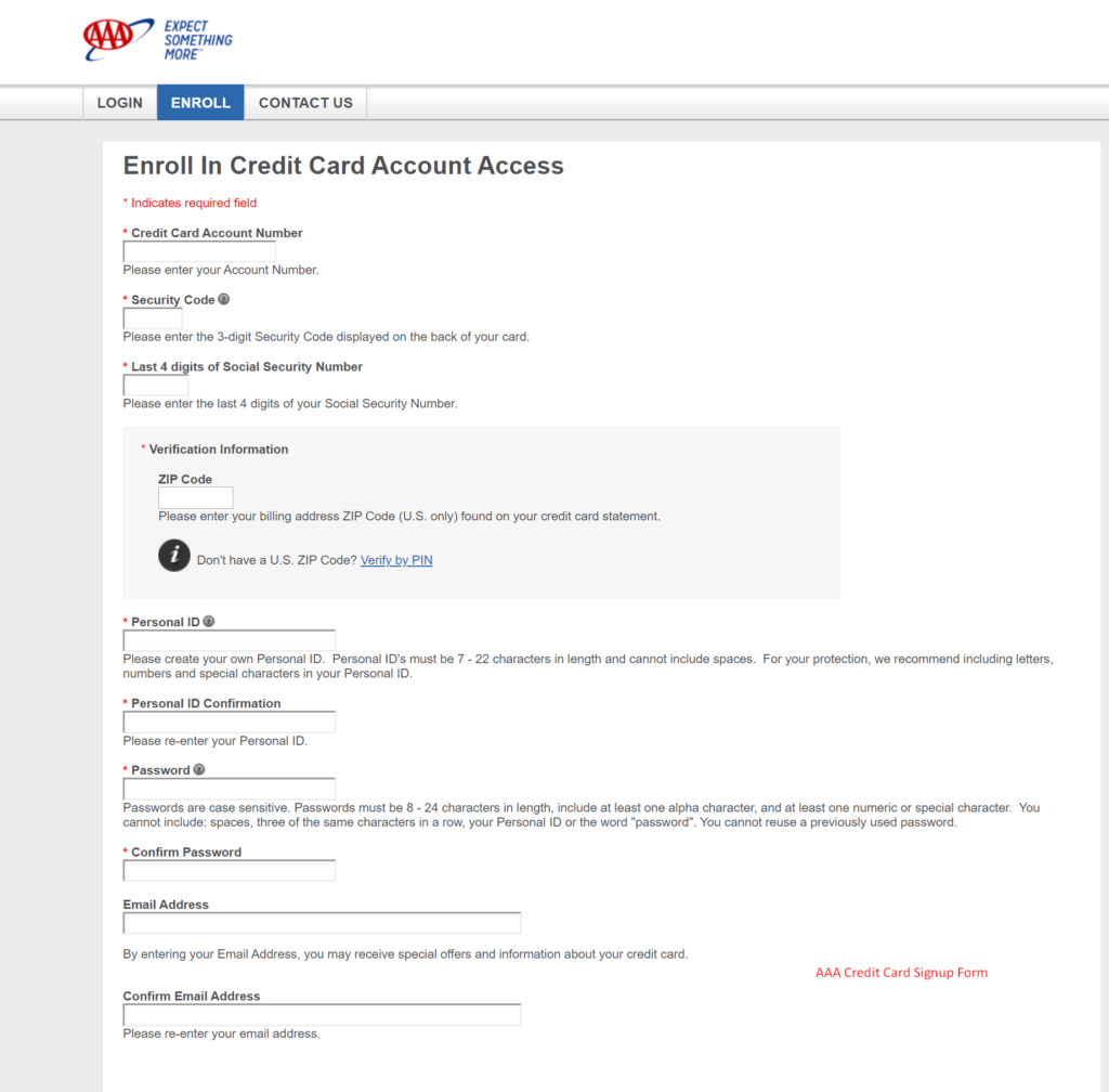 ACGCARDSERVICES Account Login Form